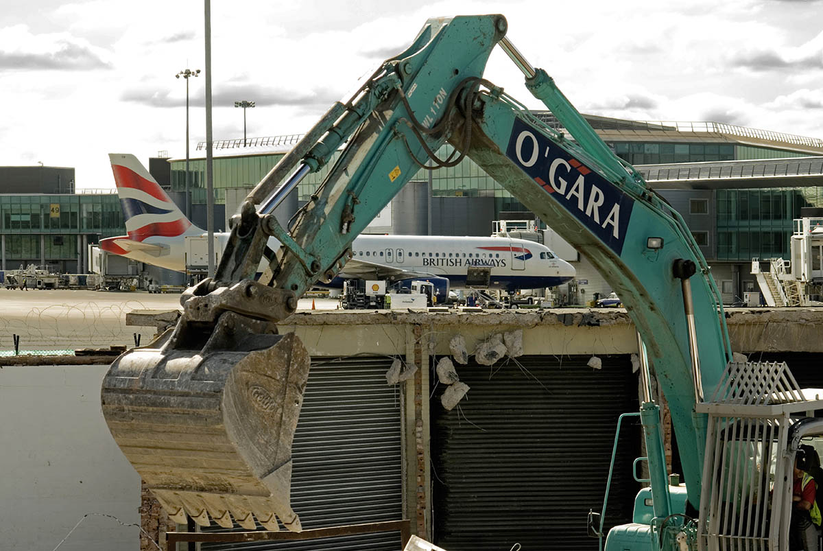 Demolition Works at Airport