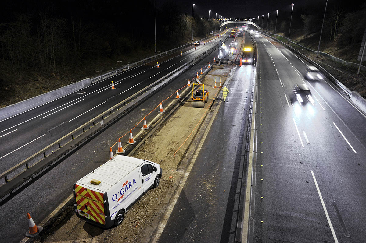 Excavation Work on Highways