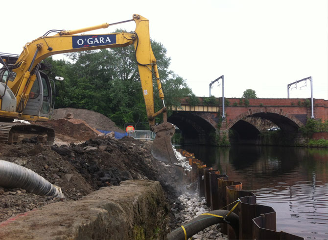 Civil Engineering work in Manchester